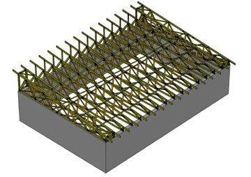 Pultová střecha sklon